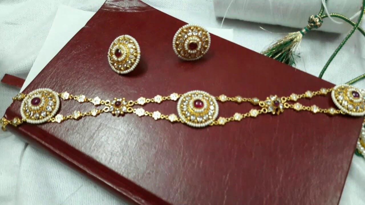 New Rajputi Shishful Rajasthani   Jewellery Design   New Rajputi ...