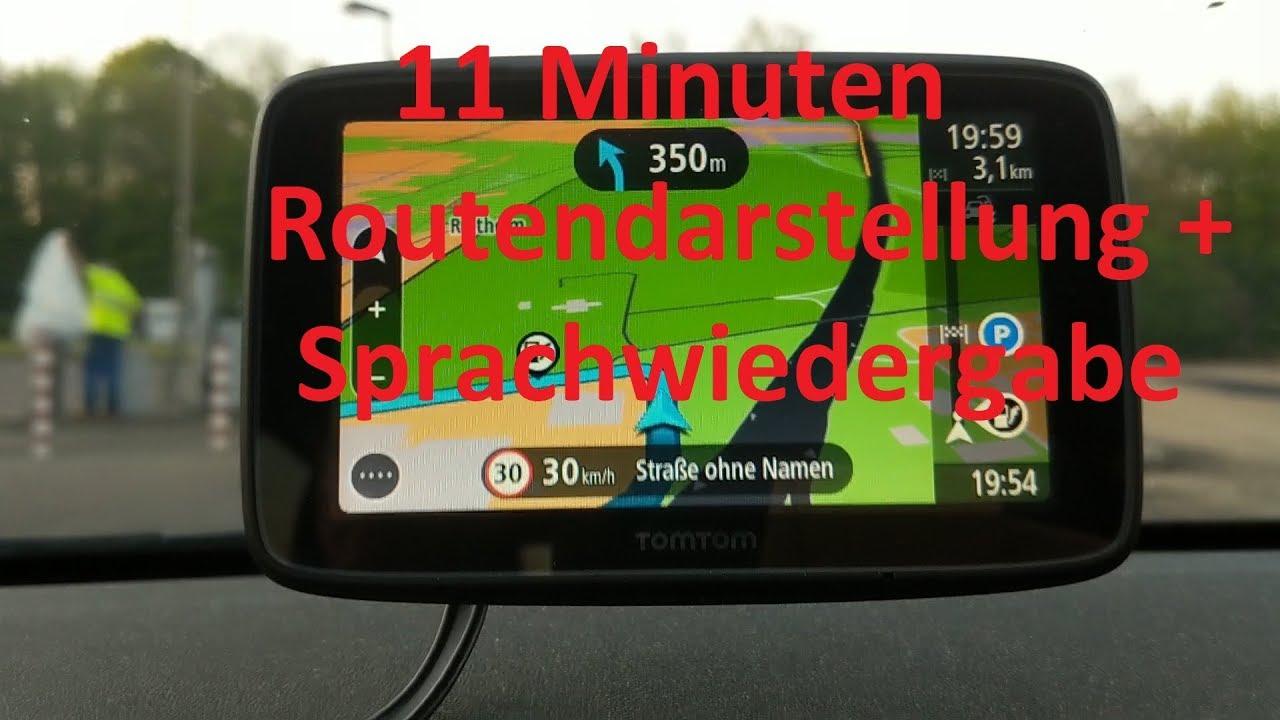 Tomtom Via 53 Deutsch Test Youtube