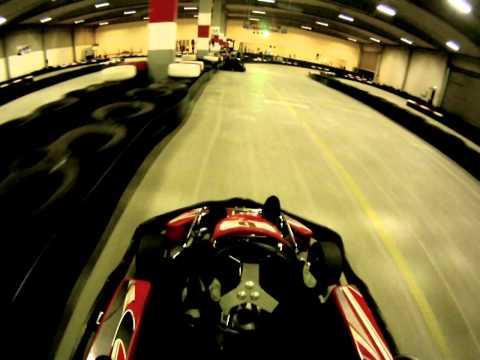 Indoor racing at GORACING in Copenhagen, Denmark February 7 2011