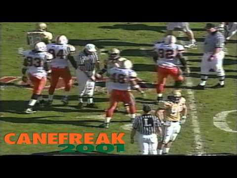1999 Gator Bowl: Miami Hurricanes vs Georgia Tech Highlights