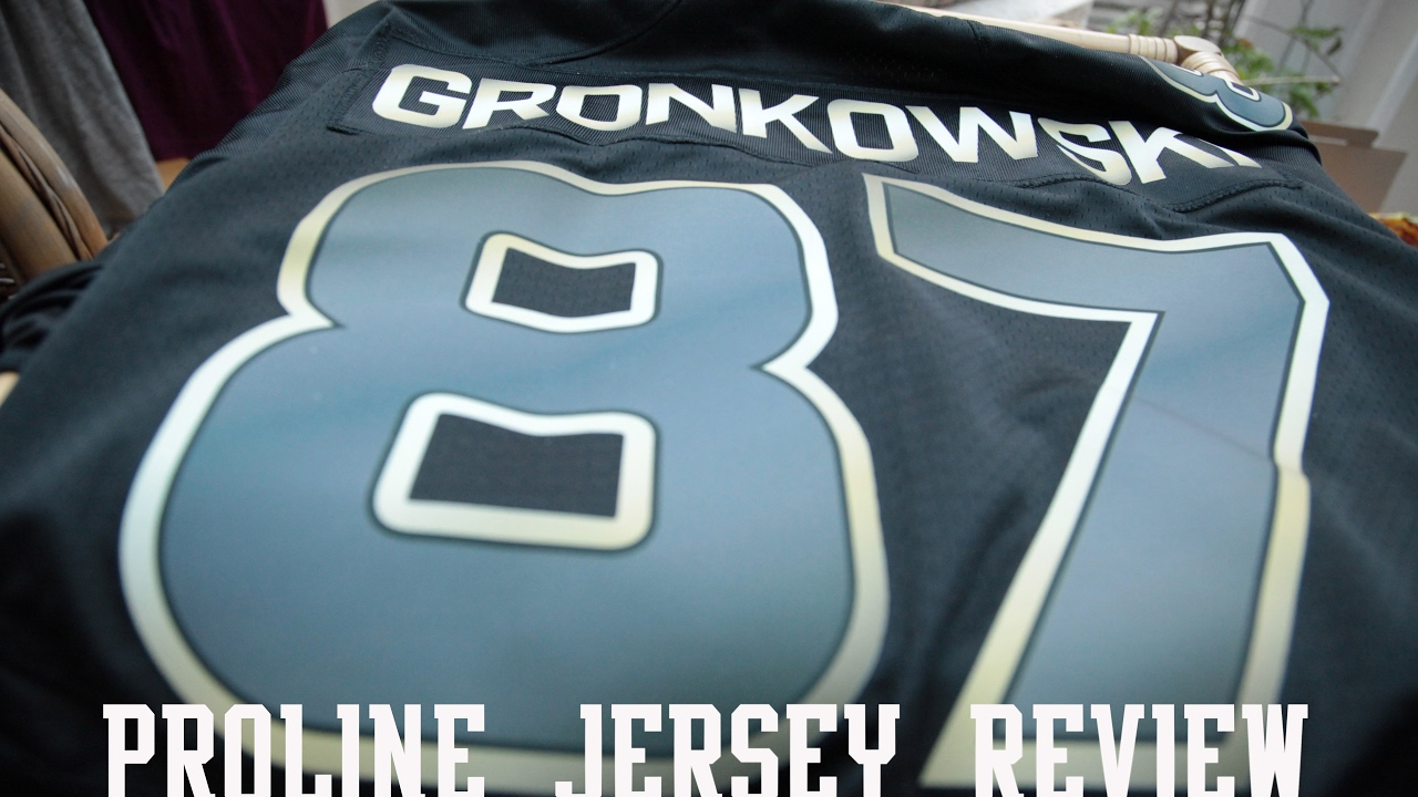 14a49546b NFL Pro Line Patriots Rob Gronkowski Black Gold Collection Jersey Review