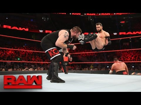 Thumbnail: Seth Rollins & Finn Balor vs. Kevin Owens & Samoa Joe: Raw, April 3, 2017