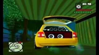 GTA SA - Mc Rick BH - Sarro gosto então sarra de novo + Fiat Stilo Sporting + 19 + Fixa + Grave