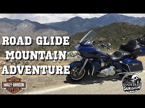 Harley Davidson Road Glide Mountain Adventure