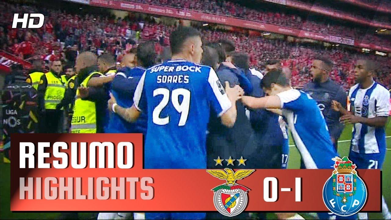 Resumo Benfica: Resumo: Benfica 0-1 FC Porto (Liga 30ªJ)