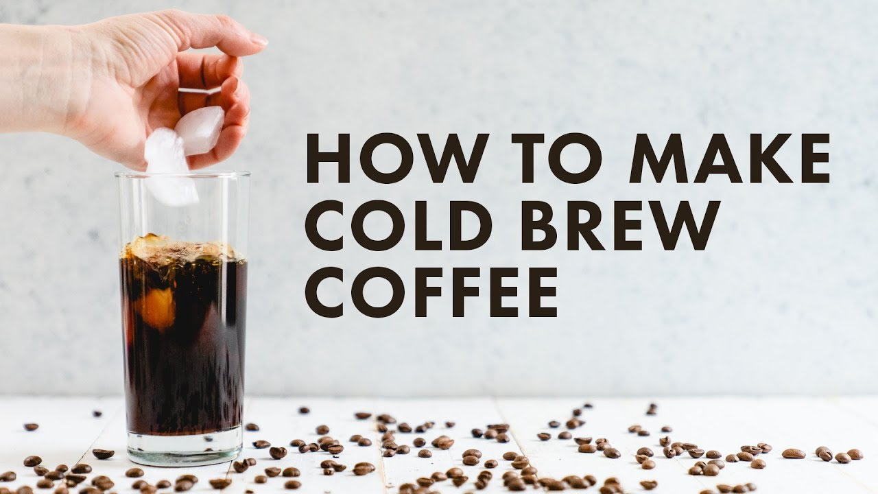 Cold Brew Coffee Easy Tutorial A Couple Cooks