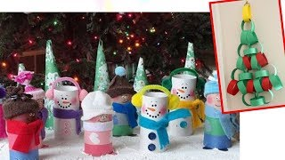 DIY: Toilet Paper Roll Christmas Craft Recycle
