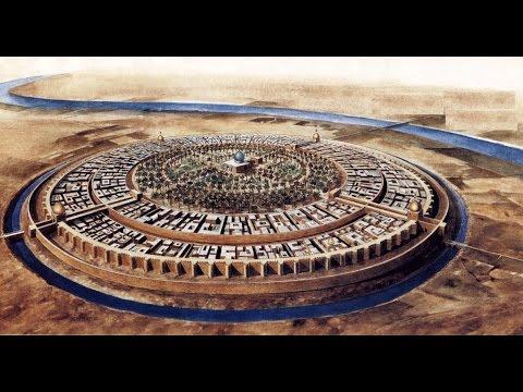 Speed Art Modélisation De L'Ancienne Ville de Baghdad