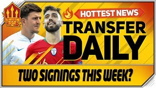 Fernandes Deal Probable Maguire Deal Today Man Utd Transfer News