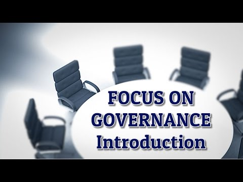 Focus on Governance - Introduction