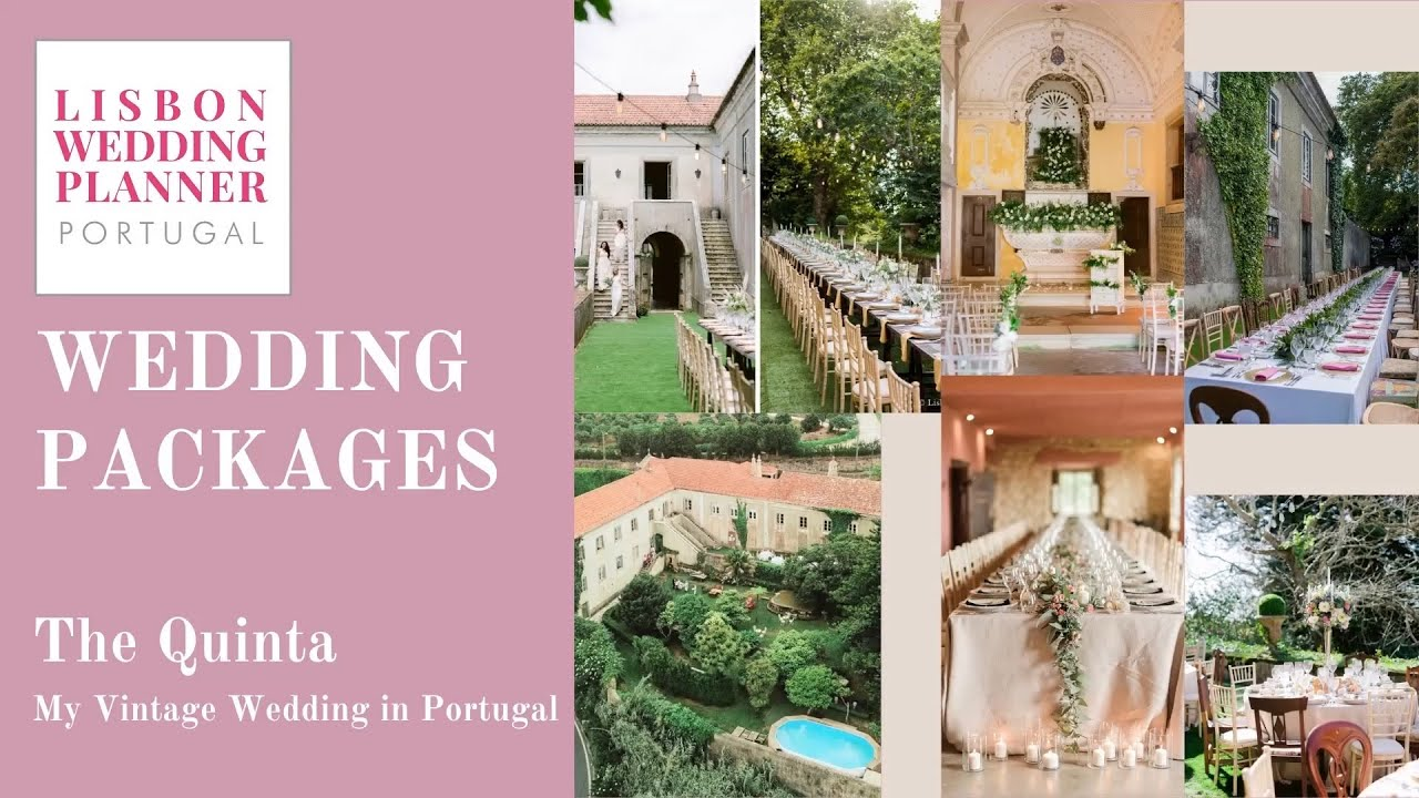 Lisbon Wedding Planner Wedding Package - The Quinta, My Vintage Wedding