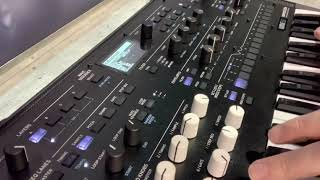 Korg wavestate Wavetable synth namm 2020 first look, beautiful for pads!