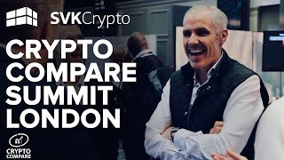 Crypto Compare Digital Asset Summit in London - SVK Crypto