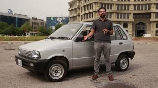 SUZUKI MEHRAN (maruti 800) REVIEW 2018 , Walk AROUND ,DRIVE AROUND PAKISTAN & INDIA