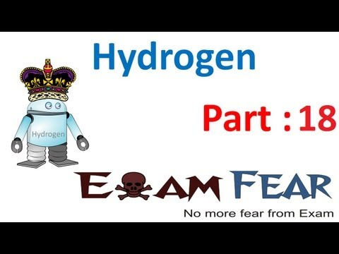 Chemistry Hydrogen part 18 (Organic methd to remove hardness water) CBSE class 11 XI
