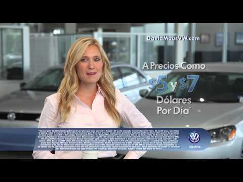 David Maus Volkswagen - Manèje Un Nuevo VW Por El Mismo Precio De Un Cafe Latte! :15S