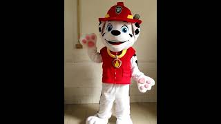 Paw Patrol Chase &  Marshall Mascot Costume For Sale