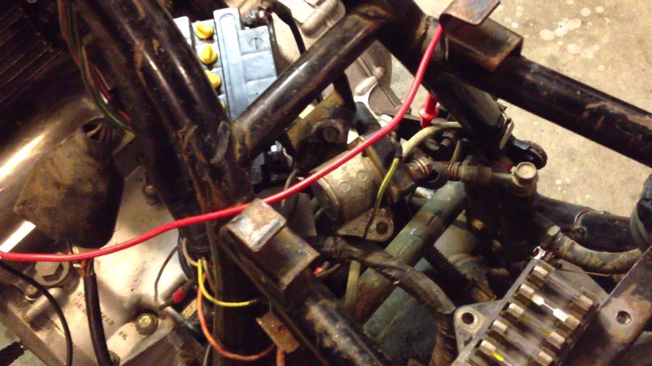 hight resolution of  maxresdefault suzuki gs 850 salvage part 1 will it turn youtube 1981 suzuki gs850 wiring