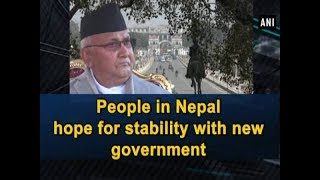 People in Nepal hope for stability with new government - World News
