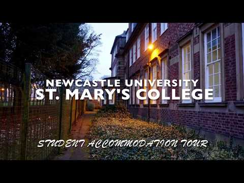 Newcastle Uni | United Kingdom | St. Mary's College Student Accommodation Tour | Student Perspective