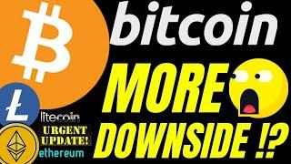 ANOTHER DROP?? BITCOIN LITECOIN and ETHEREUM bitcoin price prediction, analysis, news, trading