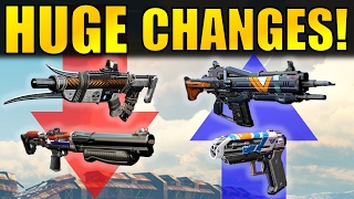 Destiny: HUGE CHANGES! | Shotgun Nerf, Auto Rifle Buff, Special Ammo Change, & More!
