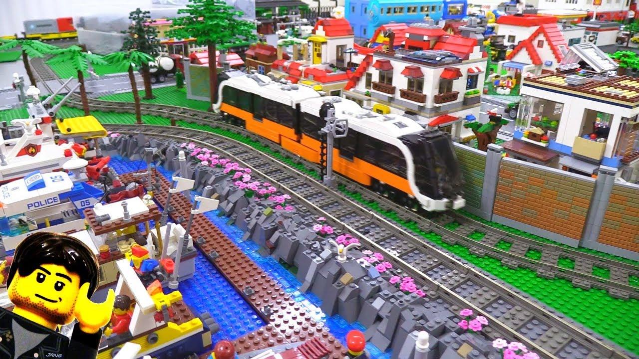 A better lego city update terrain train mess etc feb 1 2018 youtube - Image lego city ...