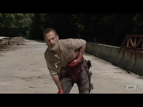 The Walking Dead | Season 9 Episode 5 | Rick's Last Scene |