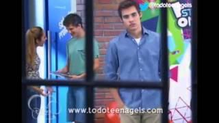 Violetta y León-de ti no me voy a olvidar