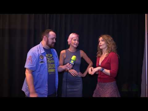 Ashley Scott and Dina Meyer @ Dragon Con 2017 dragoncontv
