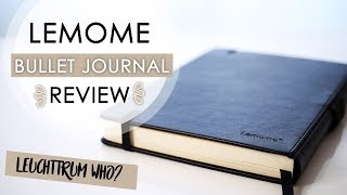 LEMOME DOTTED NOTEBOOK / BULLET JOURNAL REVIEW || + Leuchttrum Comparison