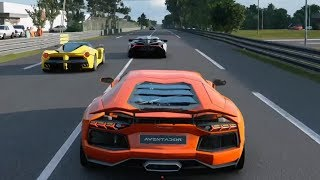 Gran Turismo Sport - Lamborghini Aventador | Le Mans Gameplay (PS4 HD) [1080p60FPS]
