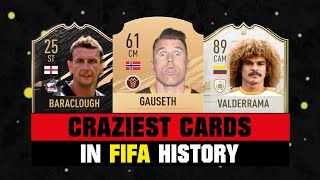 CRAZIEST CARDS IN FIFA HISTORY! 😵😱| FIFA 10 - FIFA 21