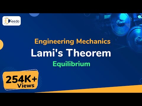 Lami's Theorem - Equilibrium of Forces - Engineering Mechani
