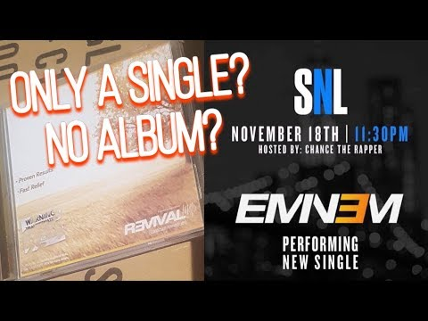 IS EMINEM DROPPING HIS ALBUM OR A SINGLE ON NOV 17?