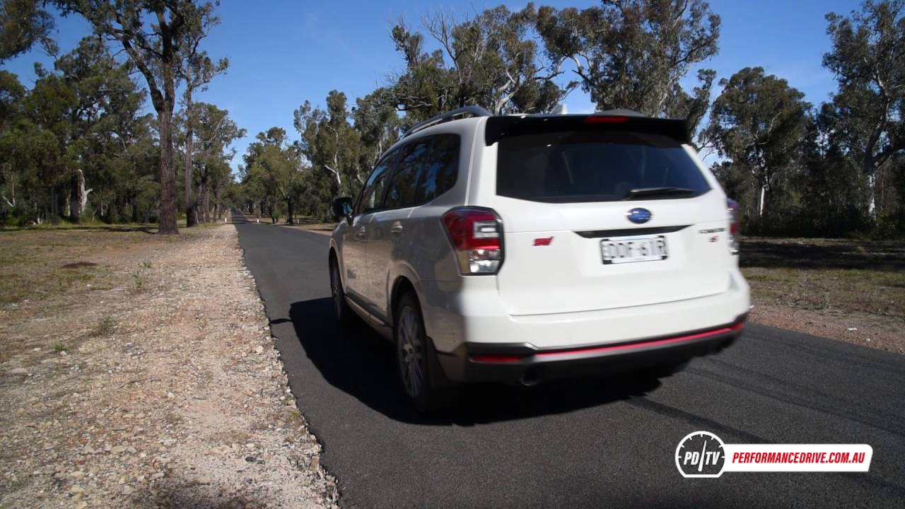 2016 Subaru Forester Ts Sti 0 100km H Engine Sound Youtube