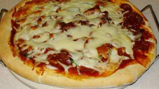 How To Make Fast & Easy Homemade Pizza Dough With Cookingandcrafting