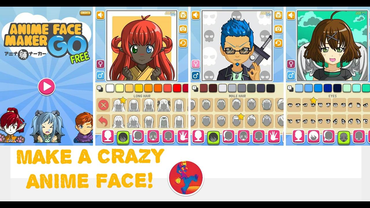 Anime face maker go free make a crazy anime face app review