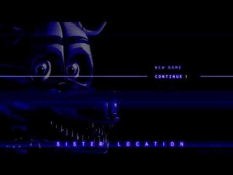 FNaF: Sister Location Title Screen | SL Menu Music | Five Nights At Freddy's