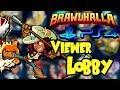 PS4 Brawlhalla Viewer Lobby • 1v1 and I Pick Random Every Game