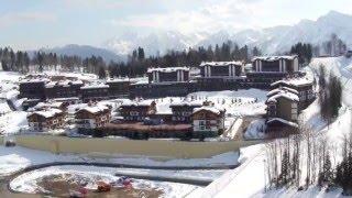 видео Горно-туристический центр «Газпром»