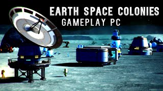 Earth Space Colonies [Gameplay, PC]