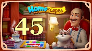 HomeScapes level 45