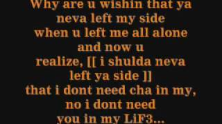 tynisha keli left your side lyrics