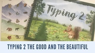 TYPING 2||THE GOOD AND THE BEAUTIFUL||BRAND NEW!