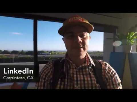Lynda.com + Linkedin Behind The Scenes Tour Of Office In Carpinteria, CA