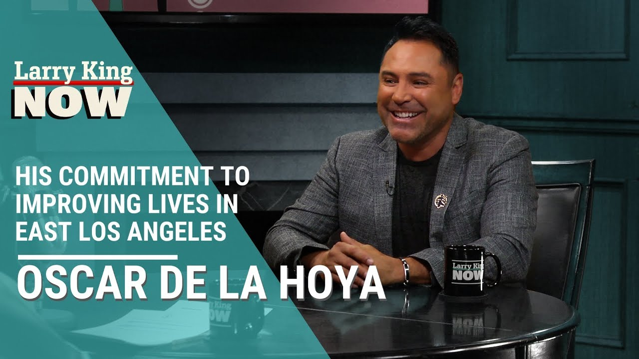 Download Oscar De La Hoya On His Commitment To Improving Lives in East Los Angeles