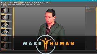 makeHuman Tutorial