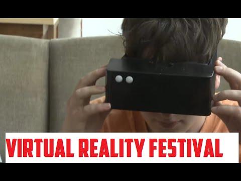 Virtual reality festival