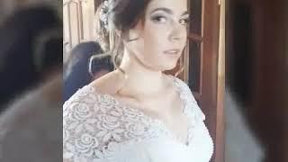 Средний пучок/свадебная прическа